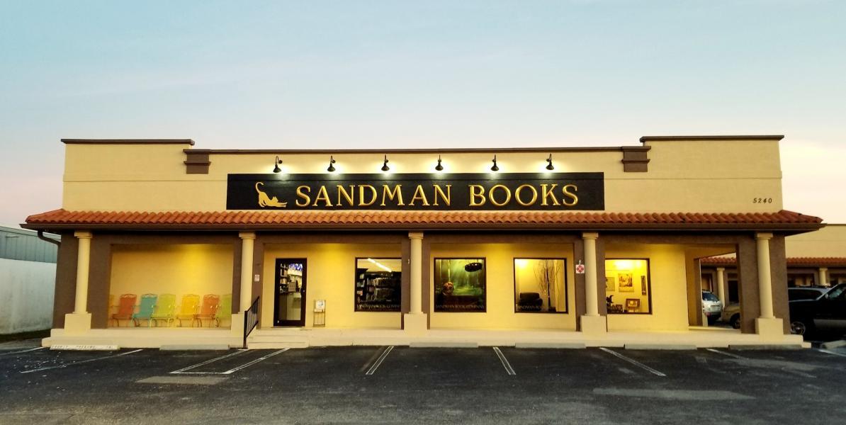 Sandman Books Bricks and Mortar Bookstore
